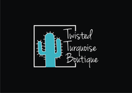 Twisted Turquoise Boutique Logo - Entry #19