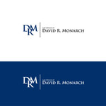 Law Offices of David R. Monarch Logo - Entry #236
