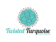 Twisted Turquoise Boutique Logo - Entry #128