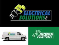 P L Electrical solutions Ltd Logo - Entry #97