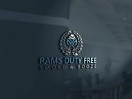 Rams Duty Free + Smoke & Booze Logo - Entry #131