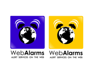 Logo for WebAlarms - Alert services on the web - Entry #47