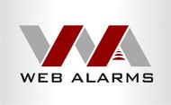 Logo for WebAlarms - Alert services on the web - Entry #160
