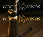Woodwind repair business logo: R S Woodwinds, llc - Entry #81