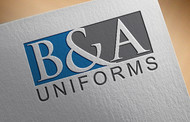 B&A Uniforms Logo - Entry #102