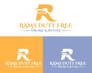 Rams Duty Free + Smoke & Booze Logo - Entry #70
