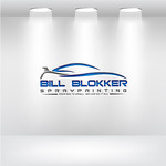Bill Blokker Spraypainting Logo - Entry #91
