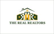 The Real Realtors Logo - Entry #122