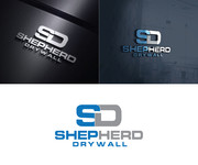 Shepherd Drywall Logo - Entry #206