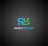 Simply Binary Logo - Entry #180