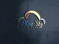 Blue Sky Life Plans Logo - Entry #403