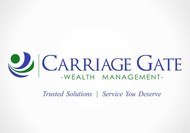 Carriage Gate Wealth Management Logo - Entry #94