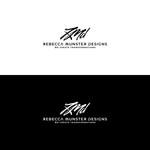 Rebecca Munster Designs (RMD) Logo - Entry #142
