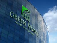 Green Wave Wealth Management Logo - Entry #160