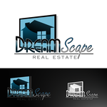 DreamScape Real Estate Logo - Entry #40
