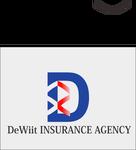 """""""DeWitt Insurance Agency"""" or just """"DeWitt"""" Logo - Entry #172"""