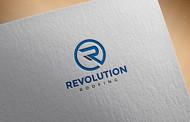 Revolution Roofing Logo - Entry #500