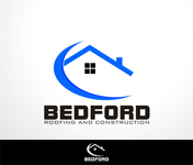 Bedford Roofing and Construction Logo - Entry #16