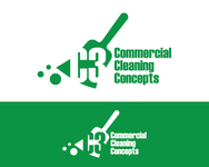 Commercial Cleaning Concepts Logo - Entry #112