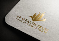 4P Wealth Trust Logo - Entry #170