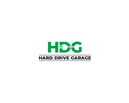 Hard drive garage Logo - Entry #64