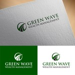 Green Wave Wealth Management Logo - Entry #38