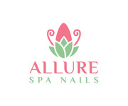 Allure Spa Nails Logo - Entry #49