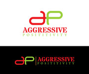 Aggressive Positivity  Logo - Entry #57