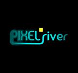 Pixel River Logo - Online Marketing Agency - Entry #204