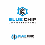 Blue Chip Conditioning Logo - Entry #108
