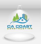 CA Coast Construction Logo - Entry #218