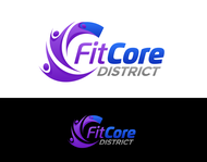 FitCore District Logo - Entry #48
