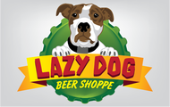 Lazy Dog Beer Shoppe Logo - Entry #14