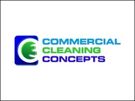 Commercial Cleaning Concepts Logo - Entry #50
