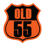 """""""OLD 55"""" - mid-century vintage furniture and wares store Logo - Entry #50"""