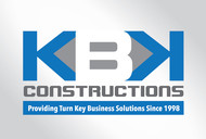 KBK constructions Logo - Entry #49