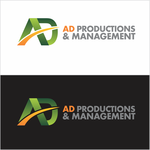 Corporate Logo Design 'AD Productions & Management' - Entry #141