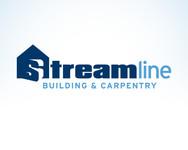 STREAMLINE building & carpentry Logo - Entry #130