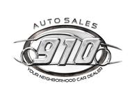 910 Auto Sales Logo - Entry #5