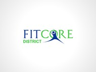 FitCore District Logo - Entry #155