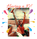 Having a 10! Logo - Entry #58