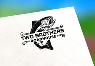 Two Brothers Roadhouse Logo - Entry #16