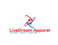 LiveDream Apparel Logo - Entry #341