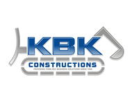KBK constructions Logo - Entry #128