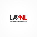 Leah's auto & nail lounge Logo - Entry #171