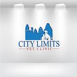 City Limits Vet Clinic Logo - Entry #160
