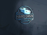 Hard drive garage Logo - Entry #22