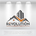 Revolution Roofing Logo - Entry #293
