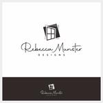 Rebecca Munster Designs (RMD) Logo - Entry #25