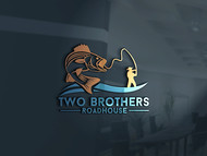 Two Brothers Roadhouse Logo - Entry #147